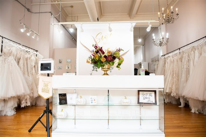 Entrance to Elite Secrets Bridal, a Black-owned Bridal Boutique