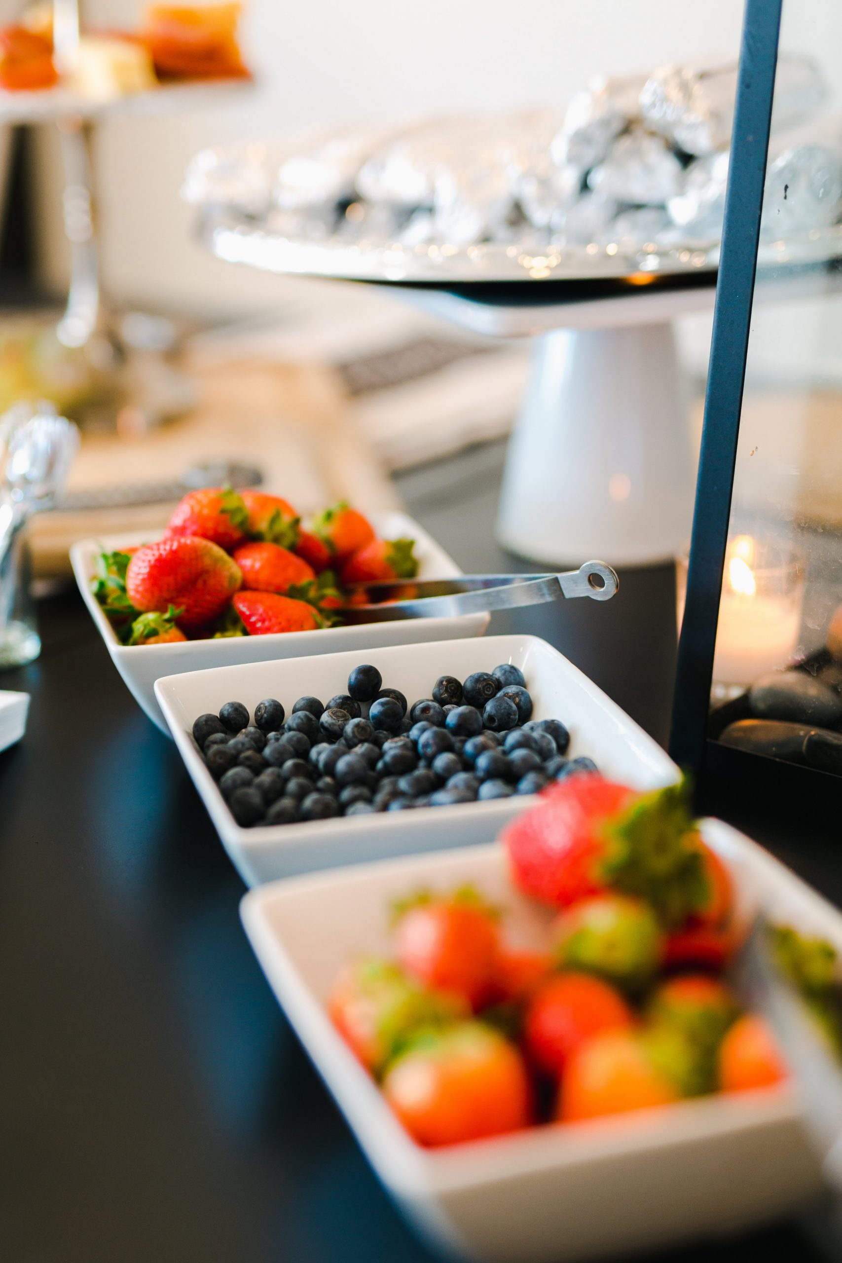 Fruit Bar for Planning the Perfect Bridal Shower