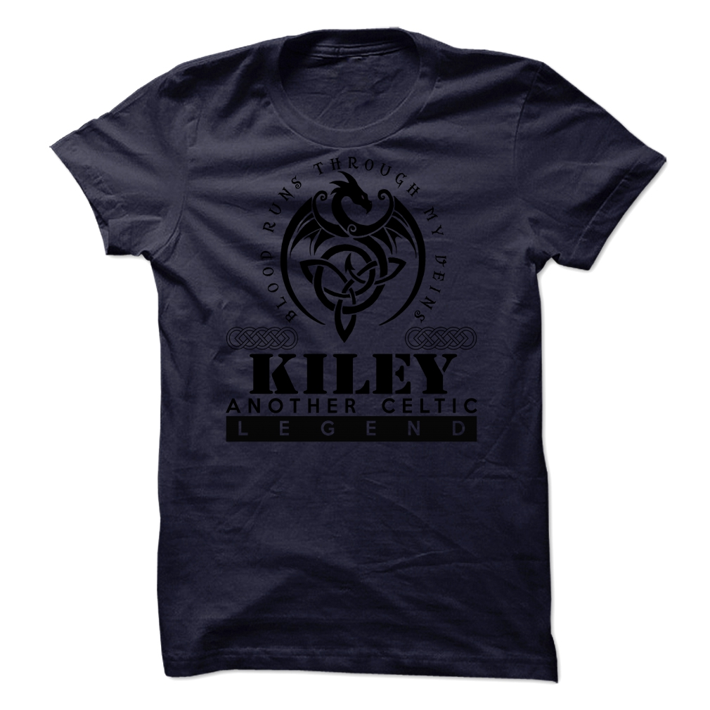- Kiley Blood Runs Through My Veins Unisex Tshirt