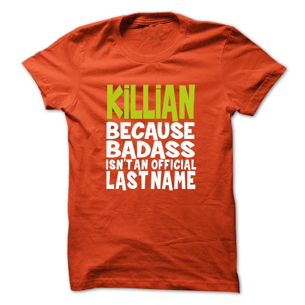 (badass) Killian Unisex Tshirt