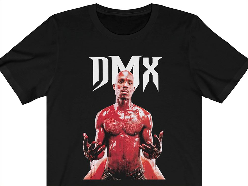 Dmx Crewneck T-shirt Ruff Ryders Def Jam Murder Inc Swizz Beats Eve Aa