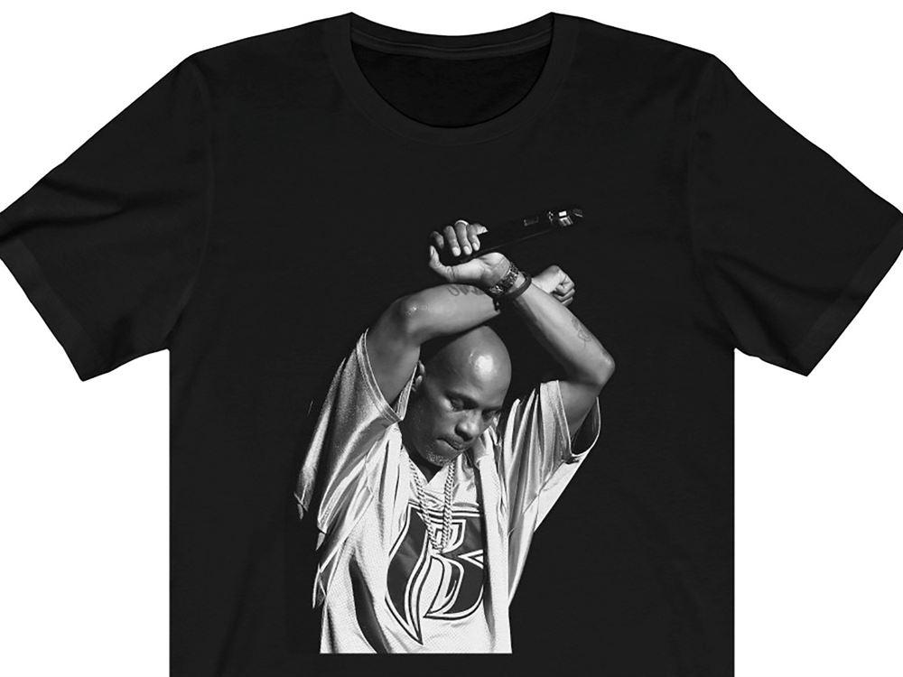 Dmx Crewneck T-shirt Ruff Ryders Def Jam Murder Inc Swizz Beats Rip Dm