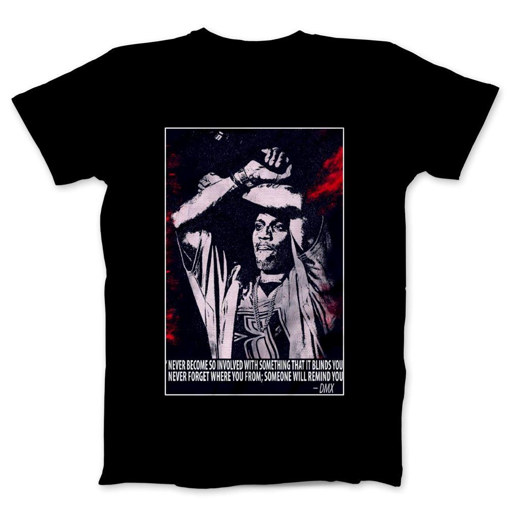 Dmx Dark Man Rapper Music Tee Shirt Dmx Dogg Unisex Black T Shirt