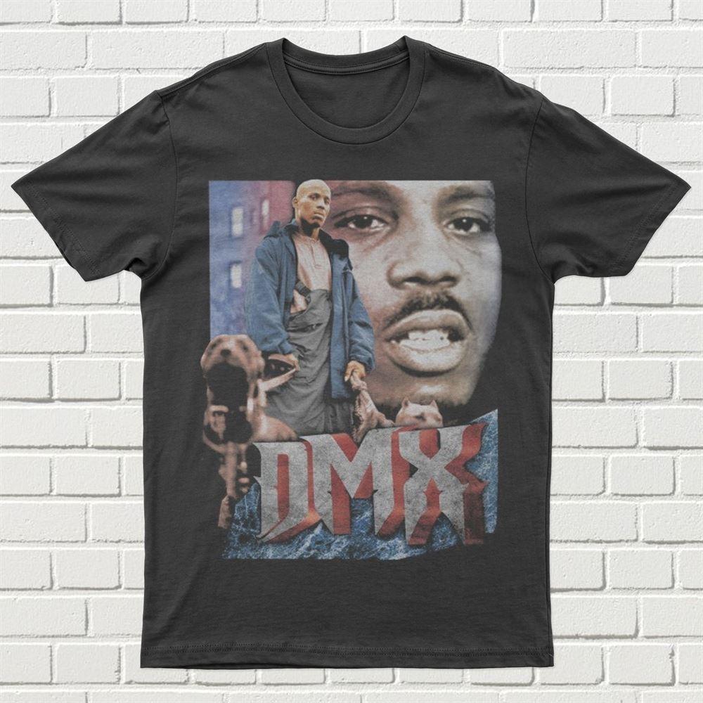 Dmx - Dark Man X Shirt Rip Dmx Shirt Vintage Style 90s T-shirt Unisex