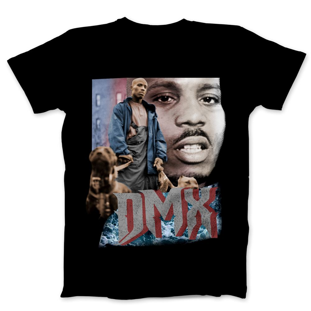 Dmx Rapper T-shirt Unisex Gift Men Women Tee S-5xl Dmx Shirt Gift Fan