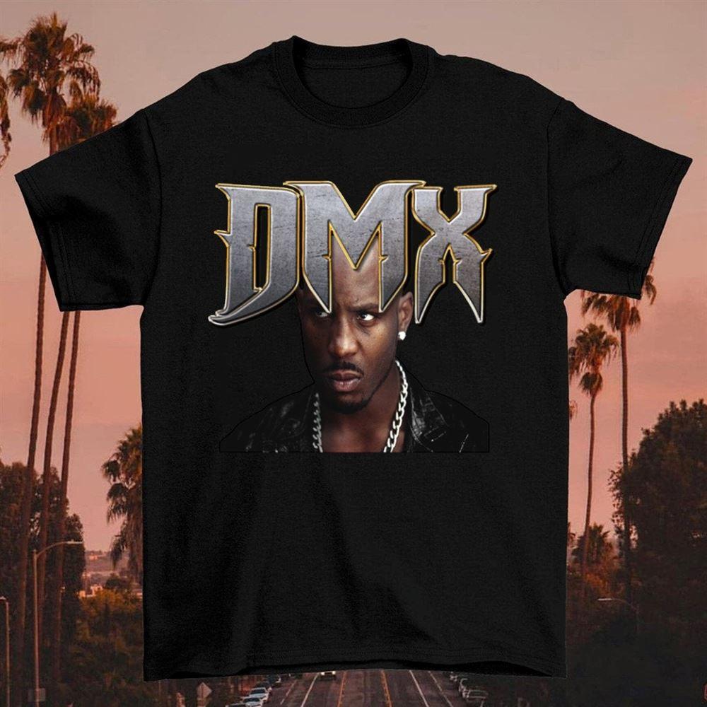 Dmx Ruff Ryders Anthem Album Logo T-shirt Vintage Rap Hip Hop T-shirt