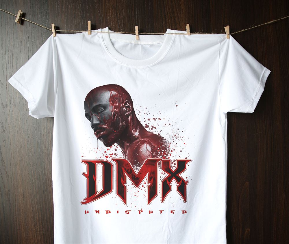 Dmx T-shirt Dmx T-shirt Vintage 90s Rap T-shirt Dmx Shirt Dmx Fan Art