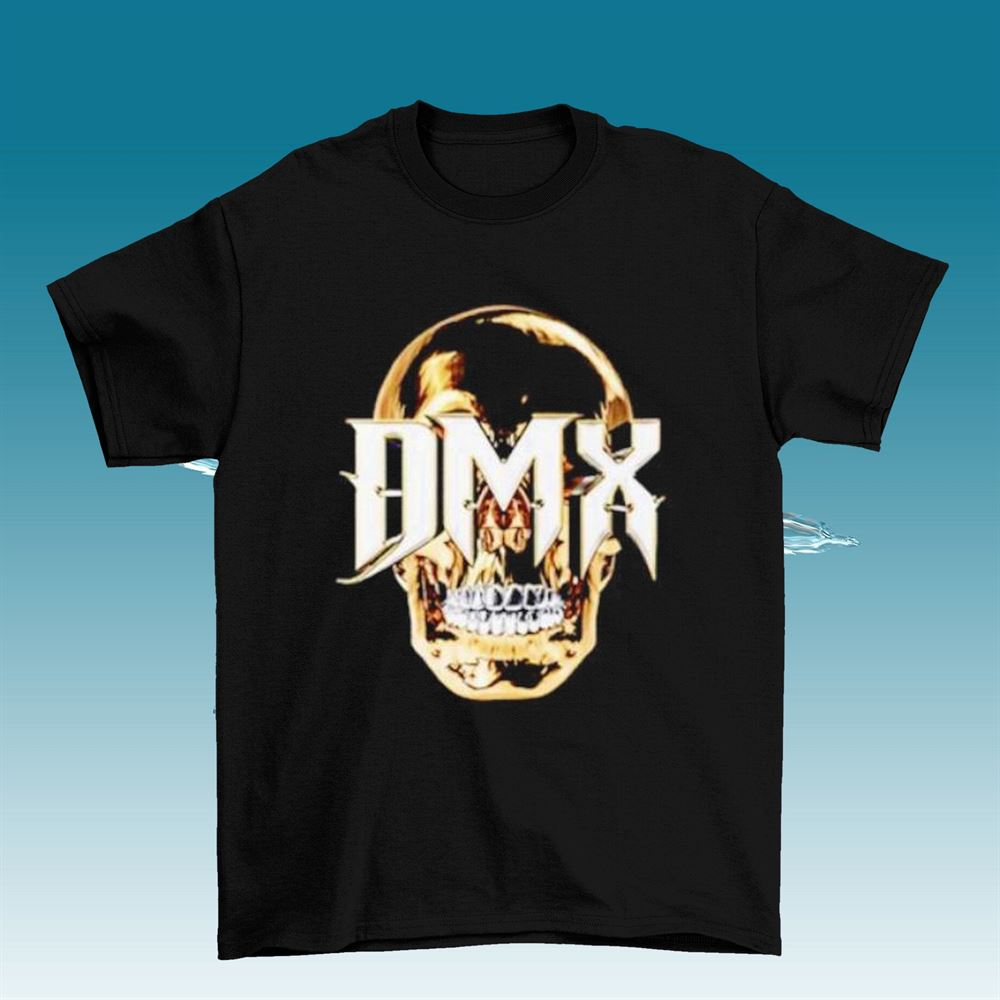 Dmx T Shirt For Men Dmx Logo Vintage Skull Shirt Dmx Dark Man X Rapper