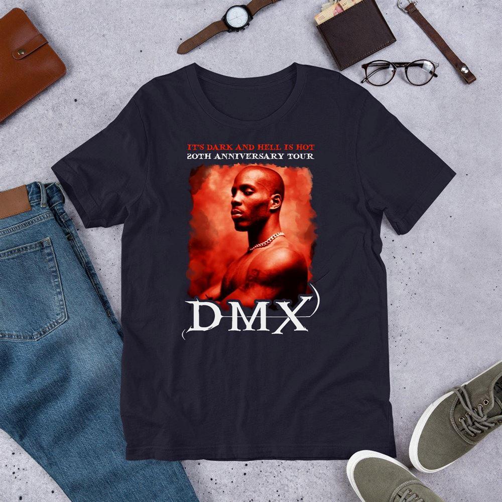 Dmx T-shirt Vintage Style Dmx 90s Inspired Rap Shirt Earl Simmons D