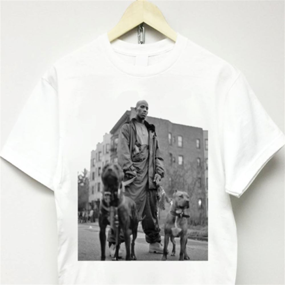 Dmx T-shirt Vtg 90s Rap Travis Scott Ruff Ryders Jordan Concert Suprem