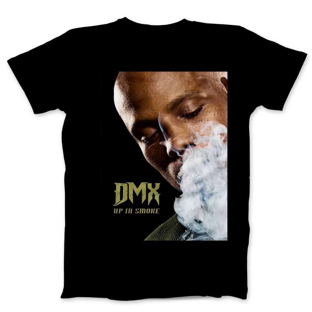 Dmx - Up In Smoke - Dmx Rap T-shirt For Men And Women