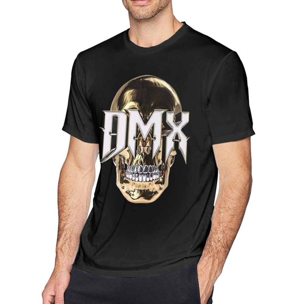 Dmx Vintage Skull Shirt - Black