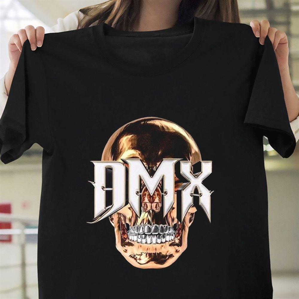Dmx Vintage Skull T-shirt Unisex Gift Men Women Tee S-5xl Dmx Bane Is