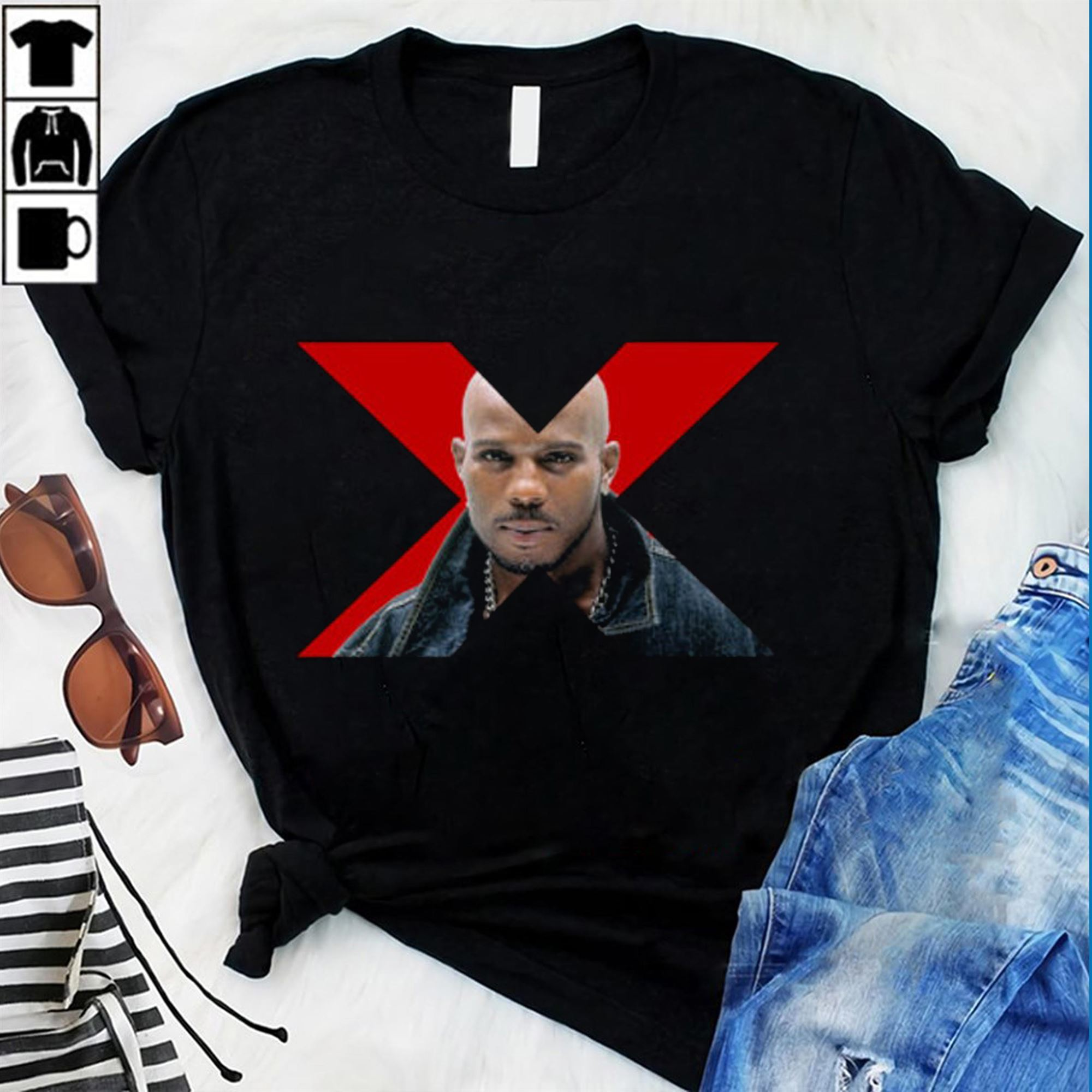 Dmx X T Shirt Hiphop Lengend 90s Rap Cool Dog Party Tee T Shirt