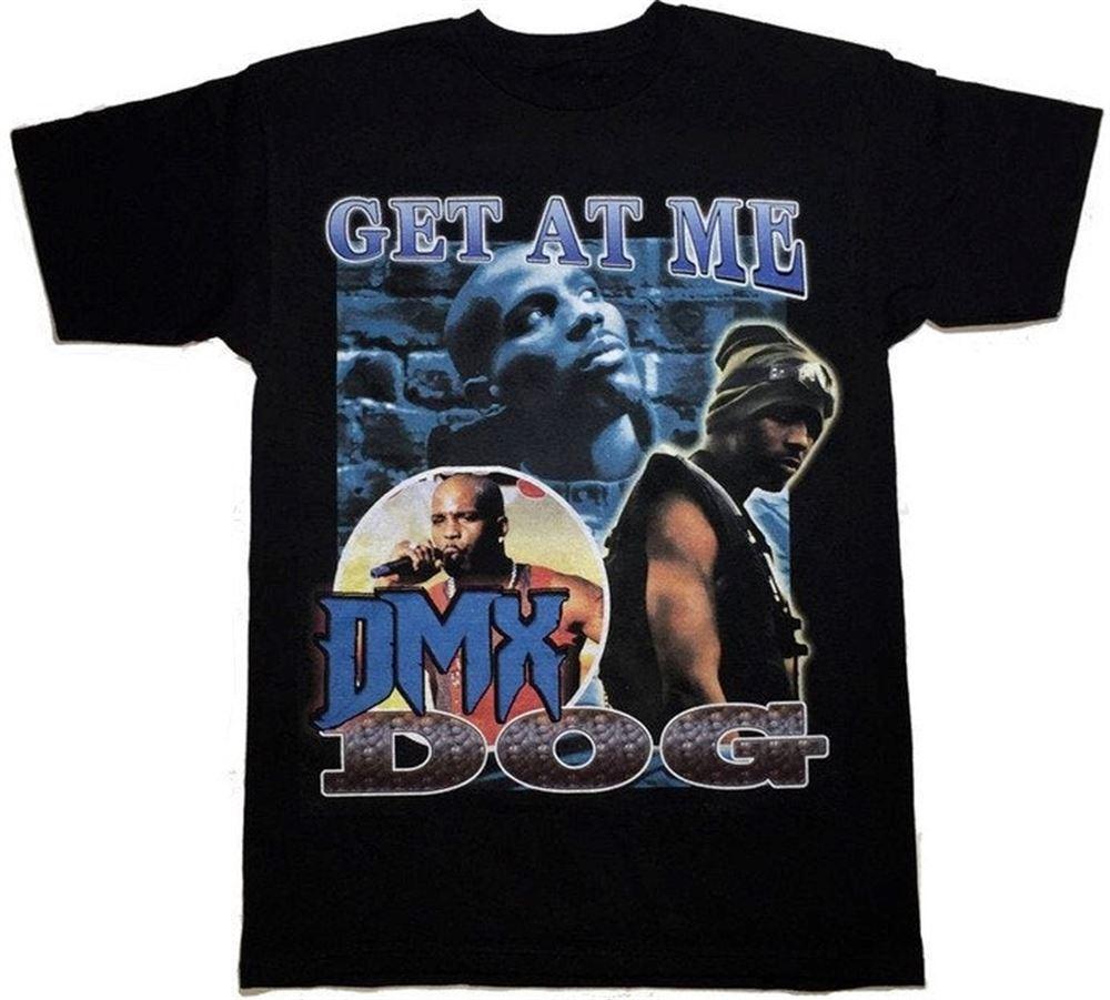 Rare Vtg Dark Man X_dmx_ Get At Me Hip Hop T-shirt Juice Wrld Rapper