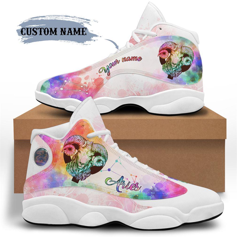 April Birthday Air Jordan 13 Shoes Personalized Sneakers Sport V19