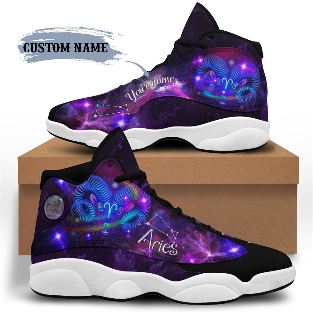 April Birthday Air Jordan 13 Shoes Personalized Sneakers Sport V21