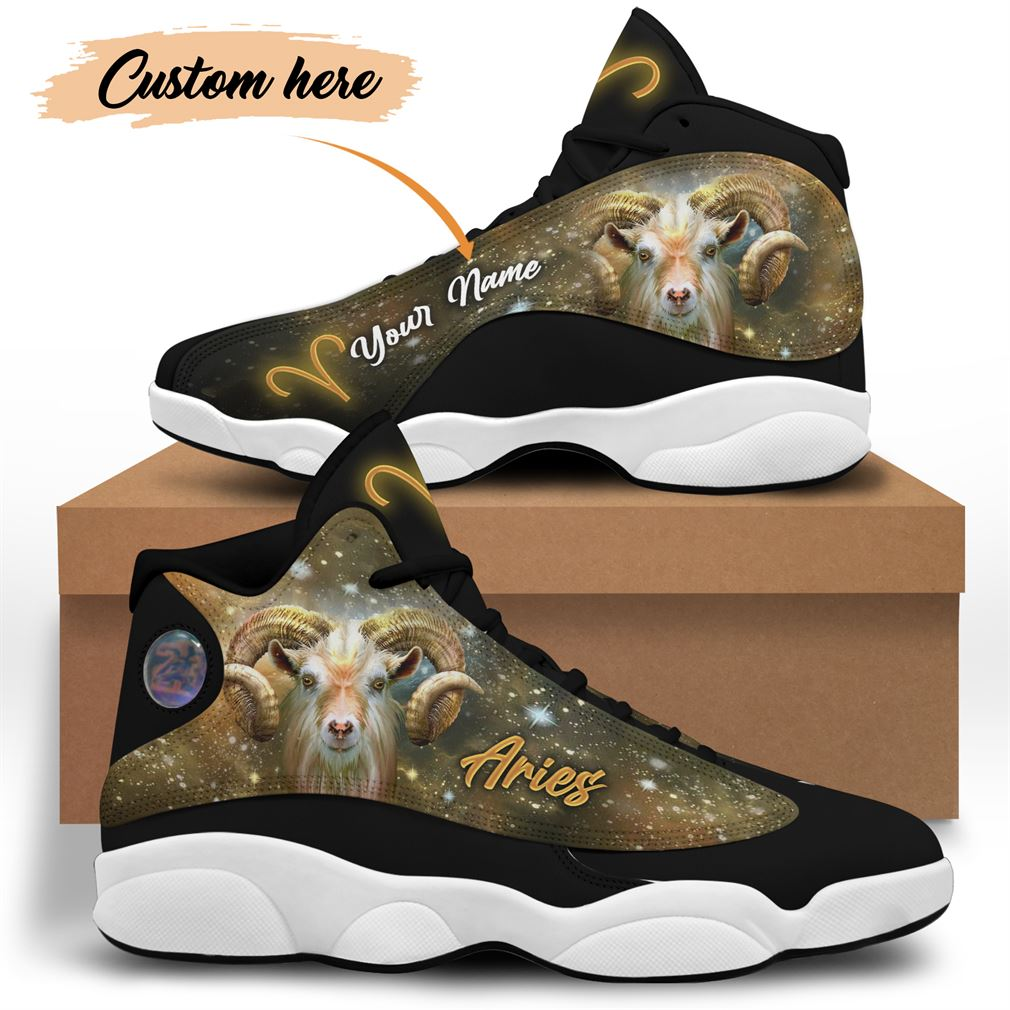 April Birthday Air Jordan 13 Shoes Personalized Sneakers Sport V22