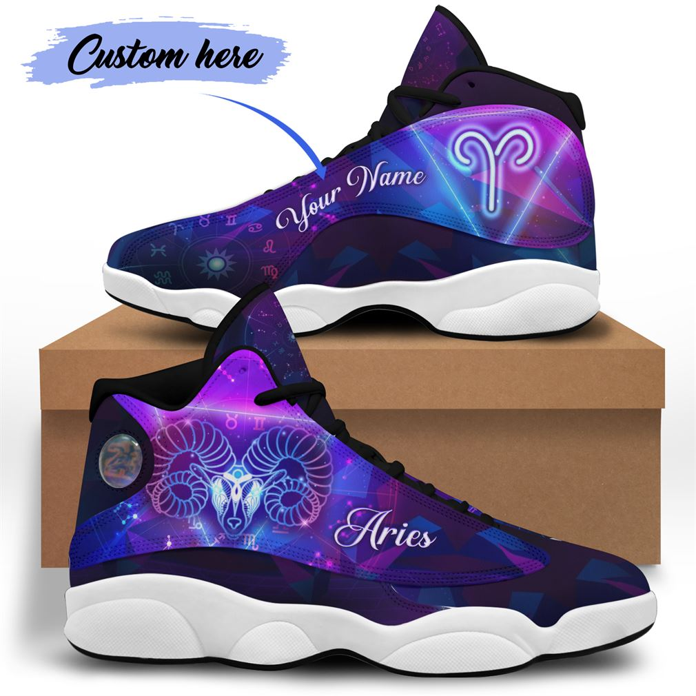 April Birthday Air Jordan 13 Shoes Personalized Sneakers Sport V26