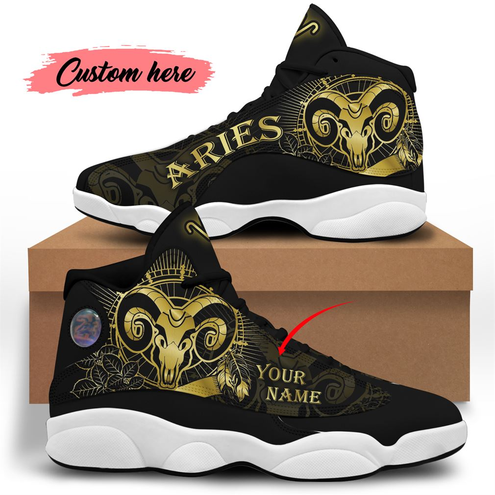 April Birthday Air Jordan 13 Shoes Personalized Sneakers Sport V28