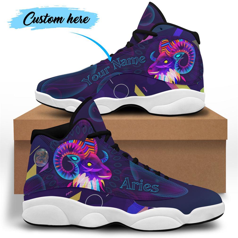 April Birthday Air Jordan 13 Shoes Personalized Sneakers Sport V30