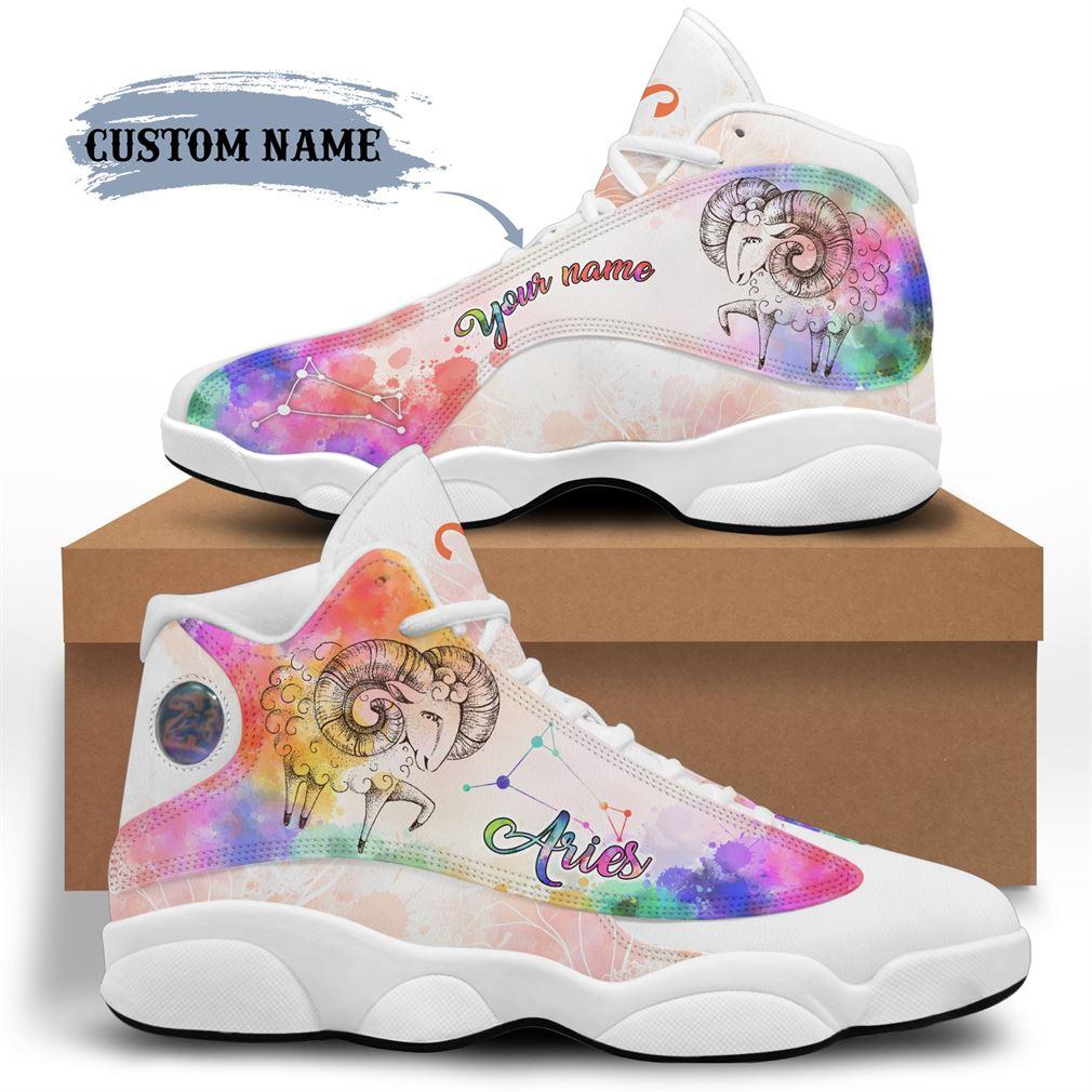 April Birthday Air Jordan 13 Shoes Personalized Sneakers Sport V33