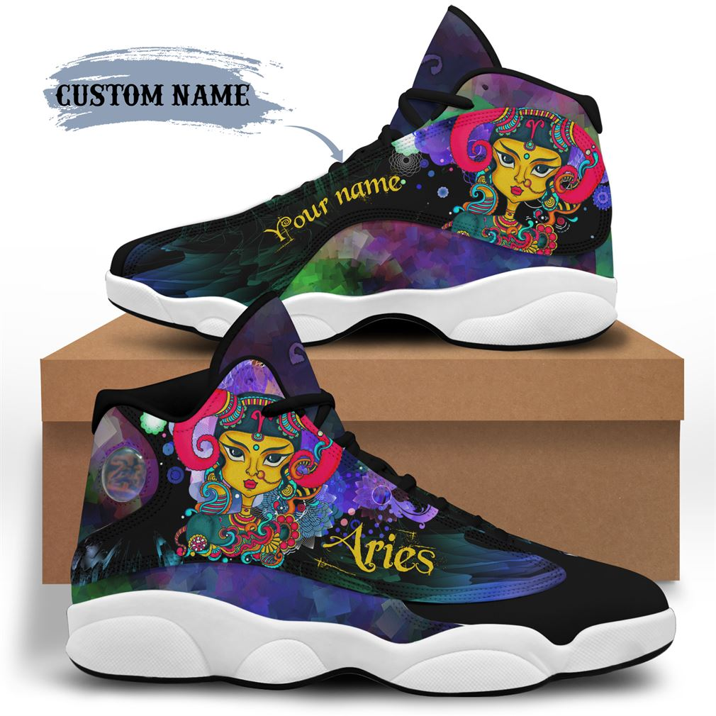 April Birthday Air Jordan 13 Shoes Personalized Sneakers Sport V34
