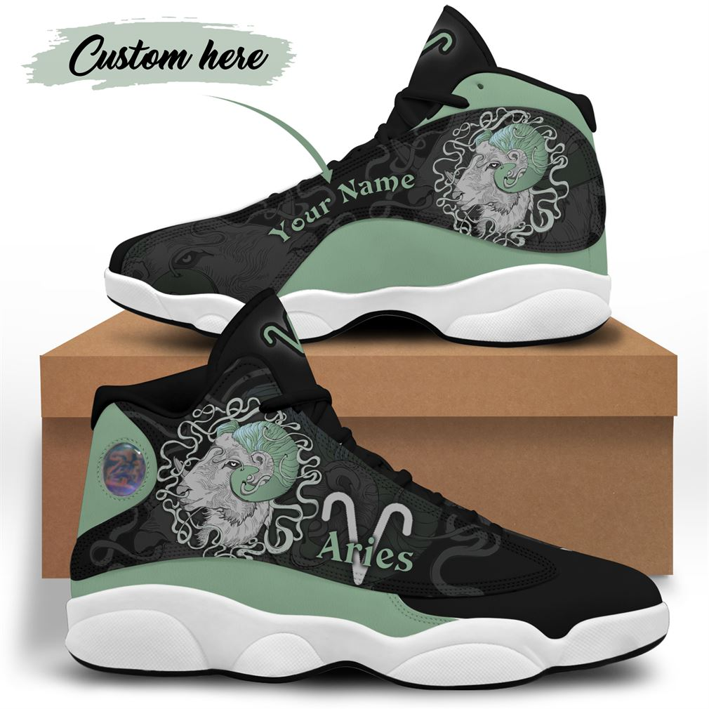 April Birthday Air Jordan 13 Shoes Personalized Sneakers Sport V37