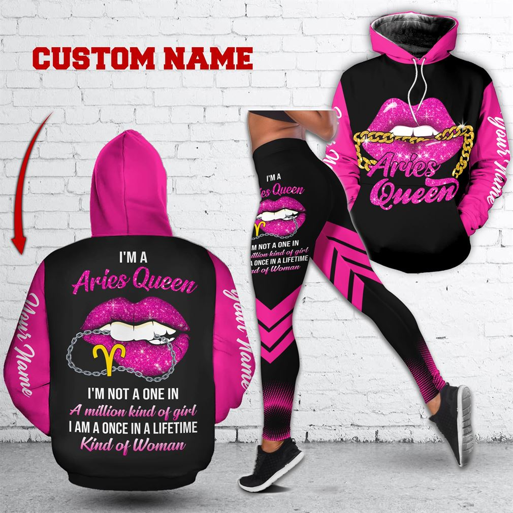 Personalized Name April Girl Combo 3d Clothes Hoodie Legging Set V14