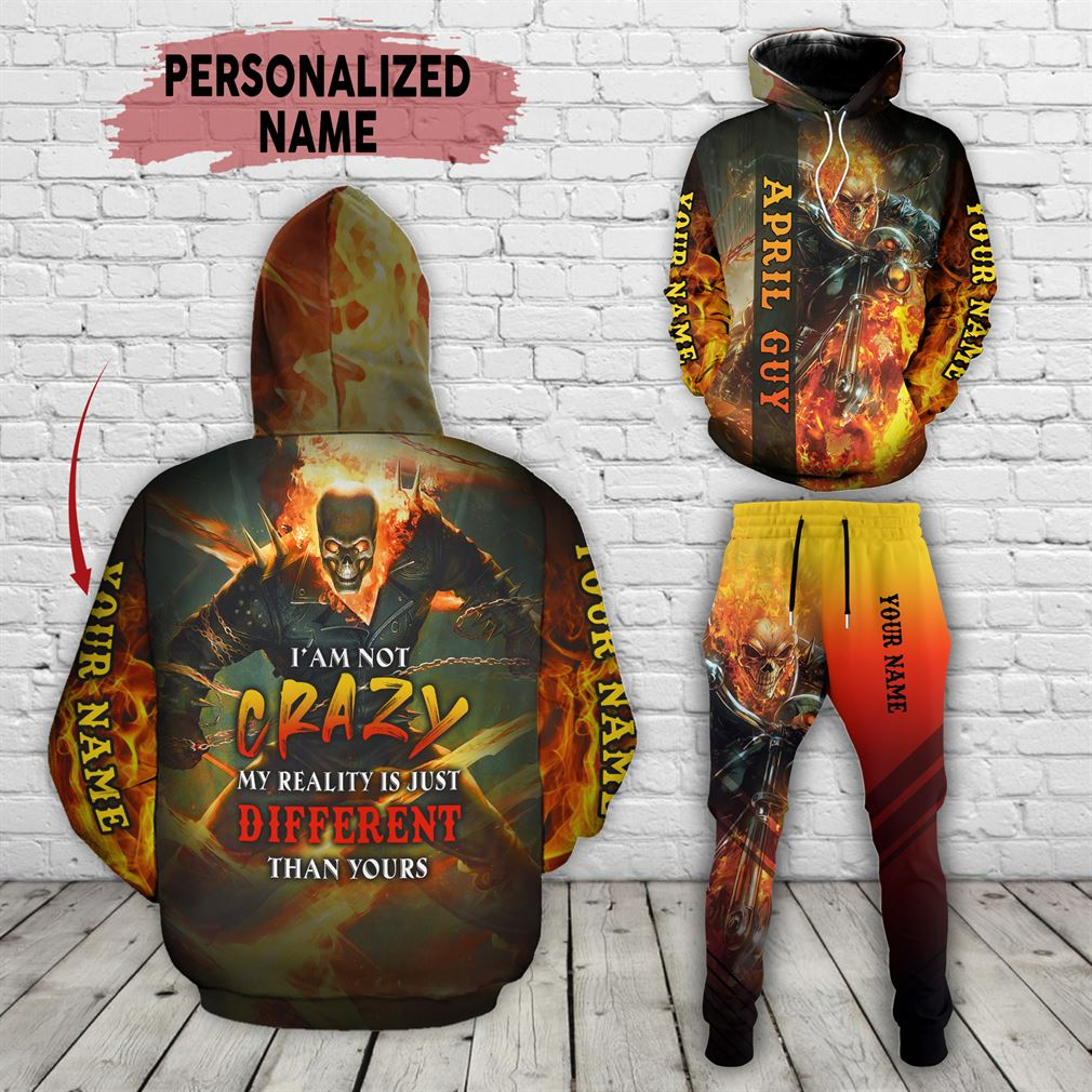 Personalized Name April Guy Combo 3d Clothes Hoodie Joggers Set V20