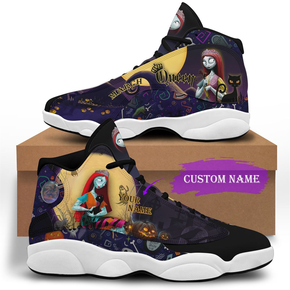 March Birthday Air Jordan 13 Shoes Personalized Sneakers Sport V10 Plus Size