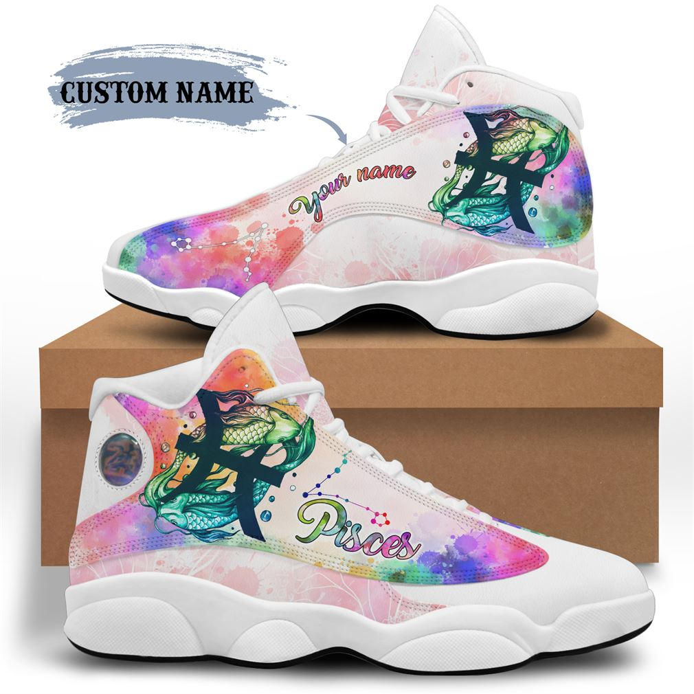 March Birthday Air Jordan 13 Shoes Personalized Sneakers Sport V19 Plus Size