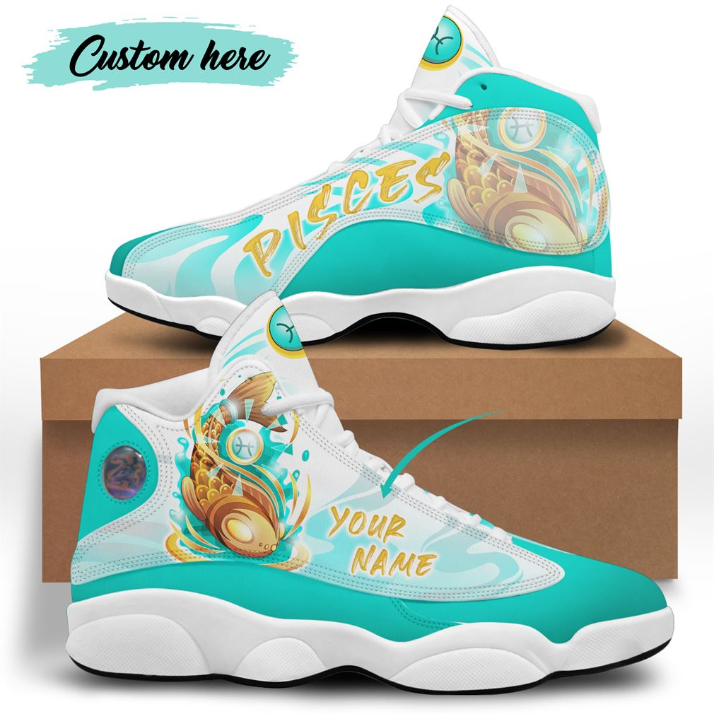 March Birthday Air Jordan 13 Shoes Personalized Sneakers Sport V23