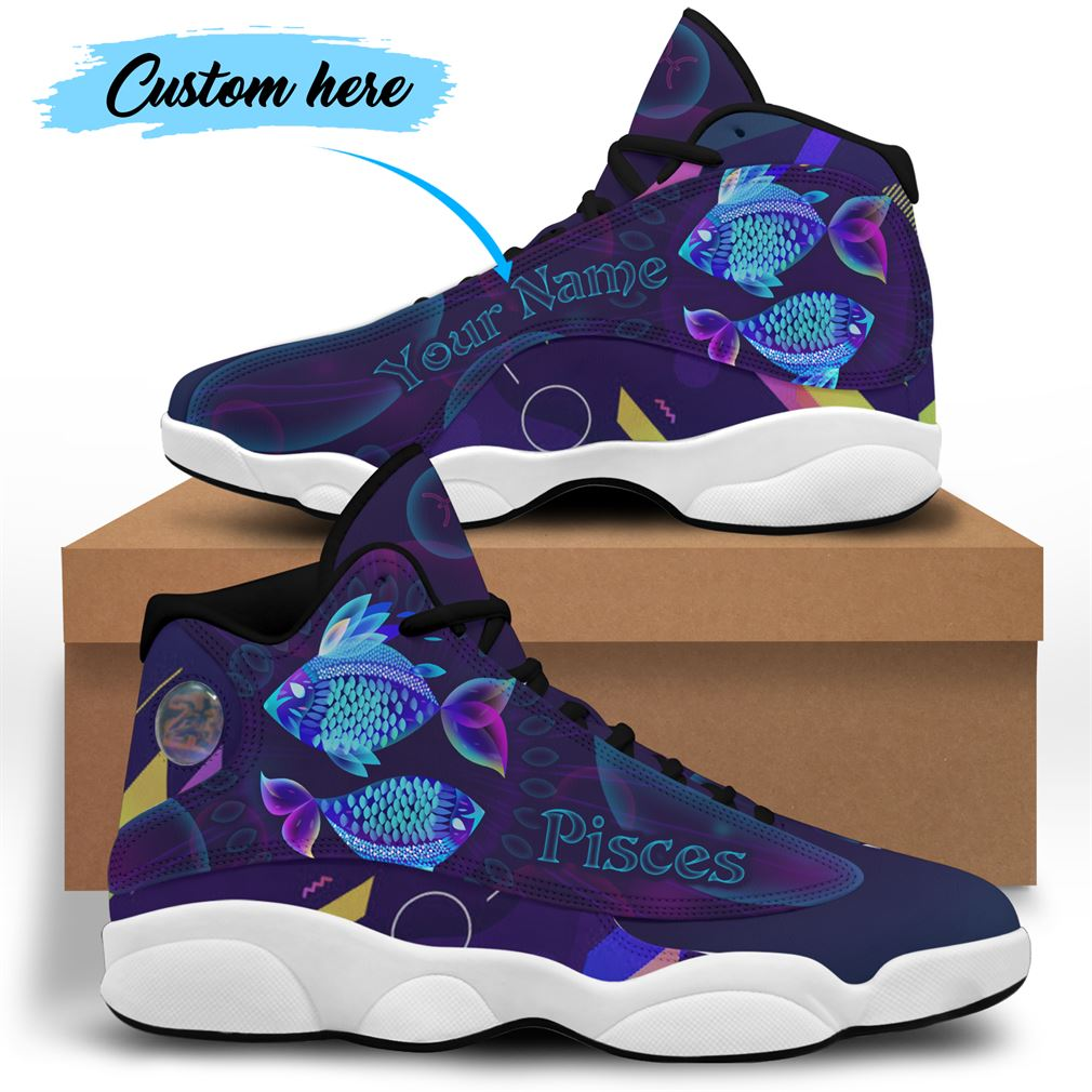 March Birthday Air Jordan 13 Shoes Personalized Sneakers Sport V30 Full Size