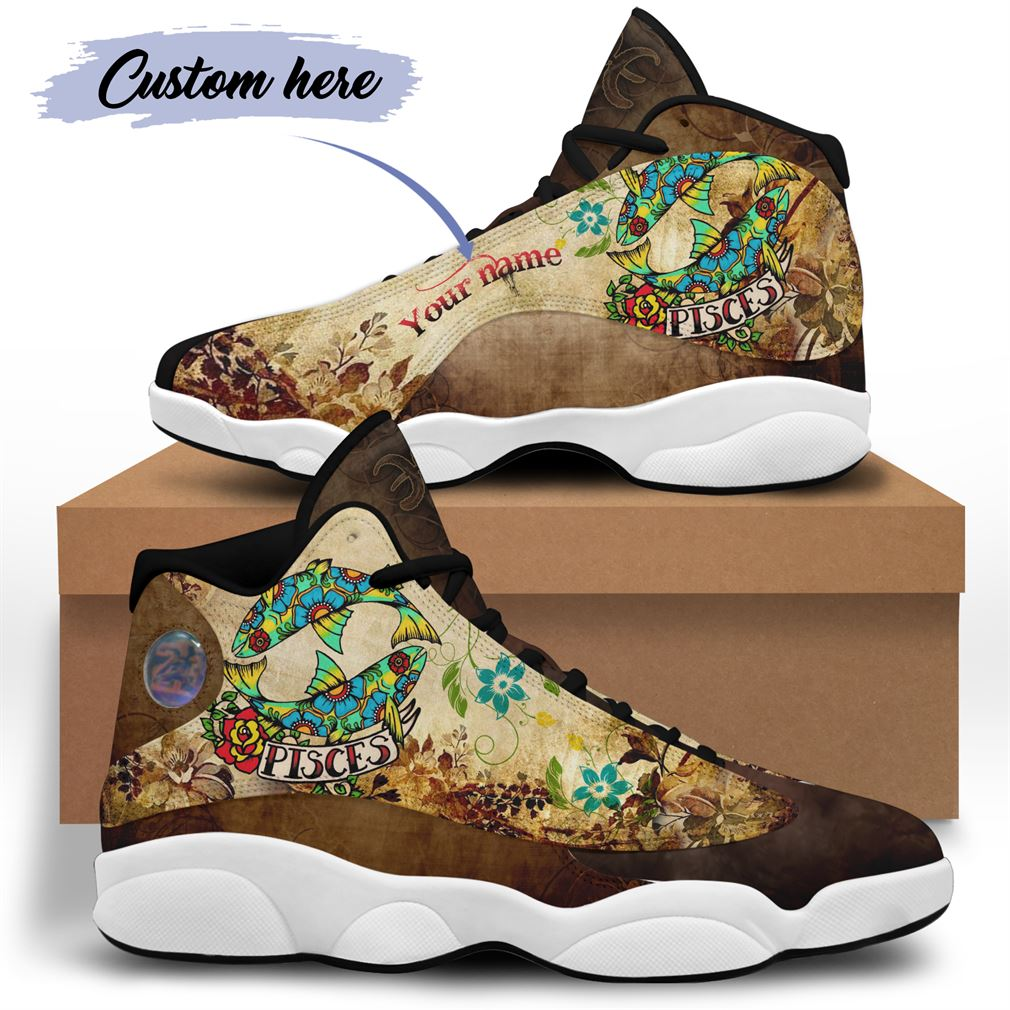 March Birthday Air Jordan 13 Shoes Personalized Sneakers Sport V32 Full Size