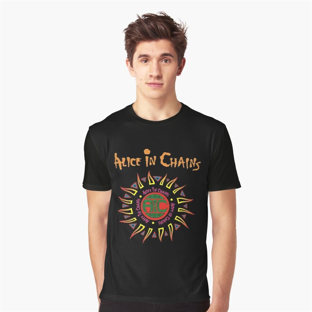 Alice In Chains Logo T Shirt