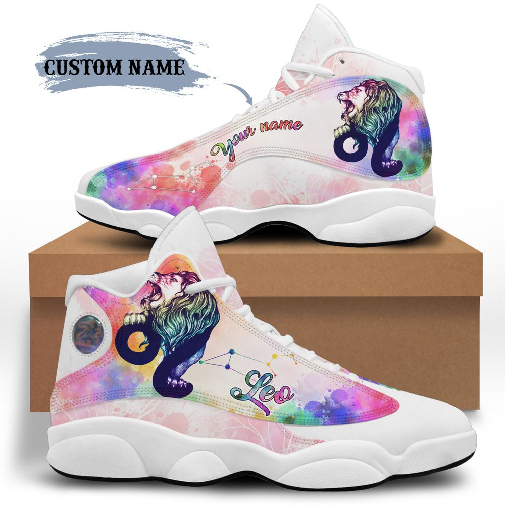 August Birthday Air Jordan 13 August Shoes Personalized Sneakers Sport V024