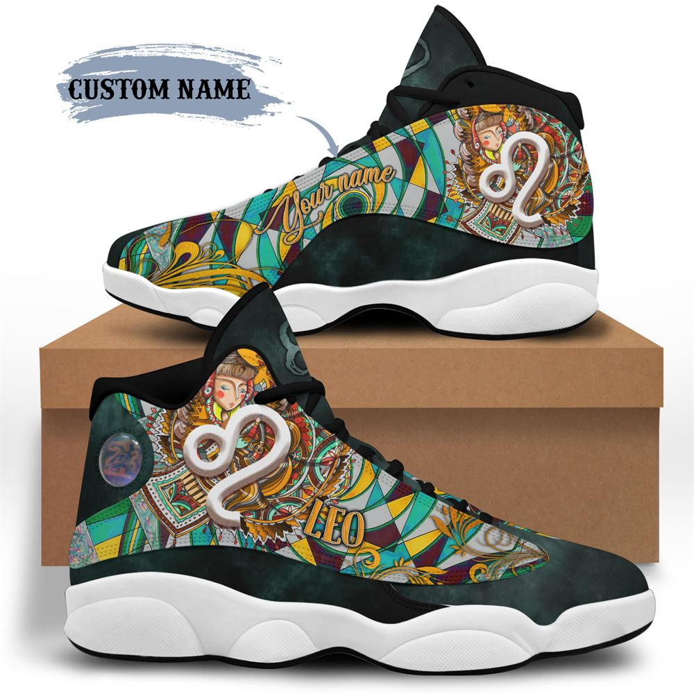 August Birthday Air Jordan 13 August Shoes Personalized Sneakers Sport V025