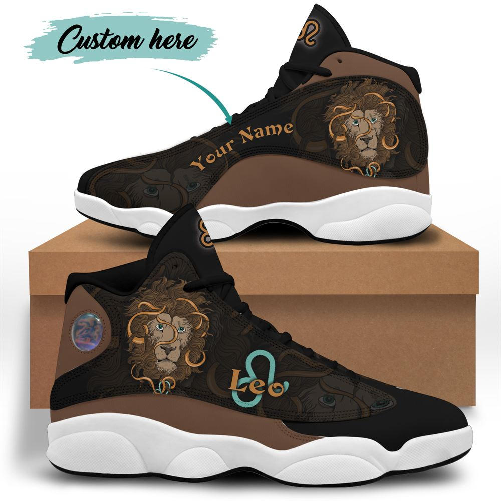 August Birthday Air Jordan 13 August Shoes Personalized Sneakers Sport V028