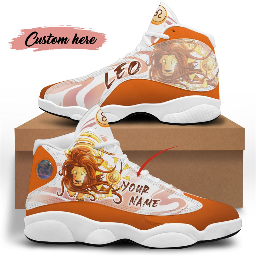 August Birthday Air Jordan 13 August Shoes Personalized Sneakers Sport V029
