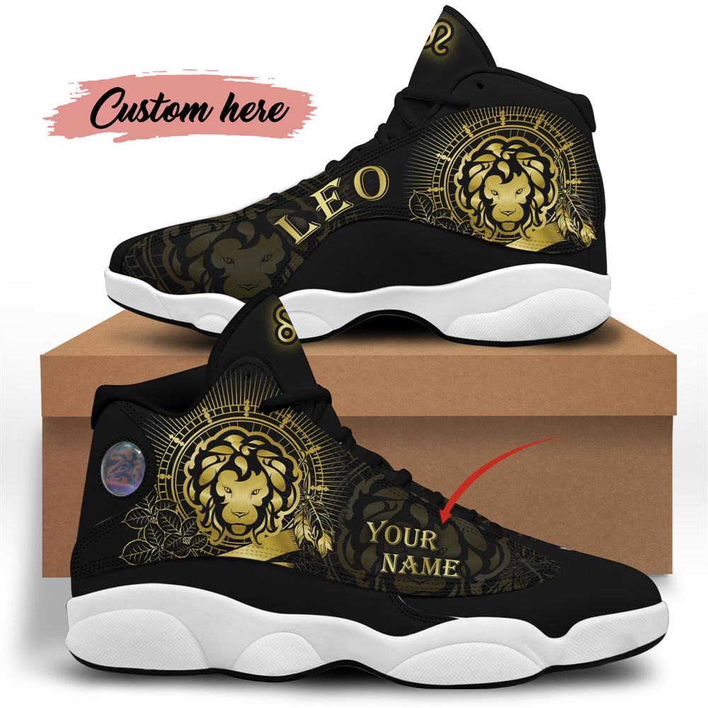 August Birthday Air Jordan 13 August Shoes Personalized Sneakers Sport V034