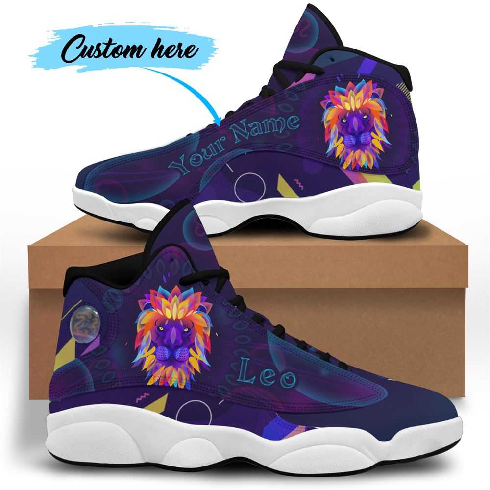 August Birthday Air Jordan 13 August Shoes Personalized Sneakers Sport V036
