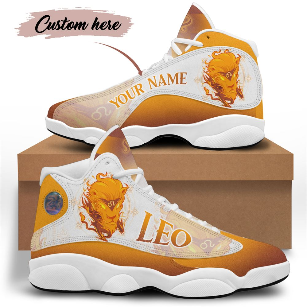 August Birthday Air Jordan 13 August Shoes Personalized Sneakers Sport V040
