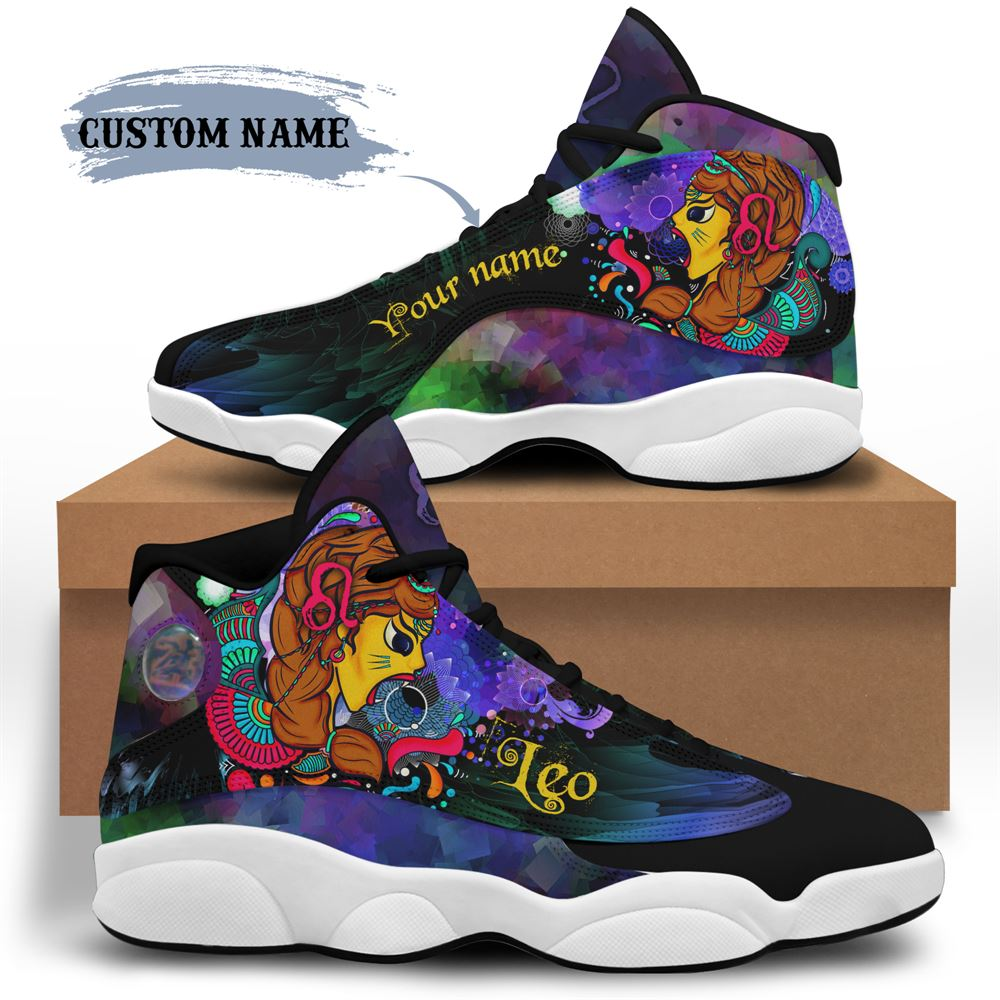 August Birthday Air Jordan 13 August Shoes Personalized Sneakers Sport V042