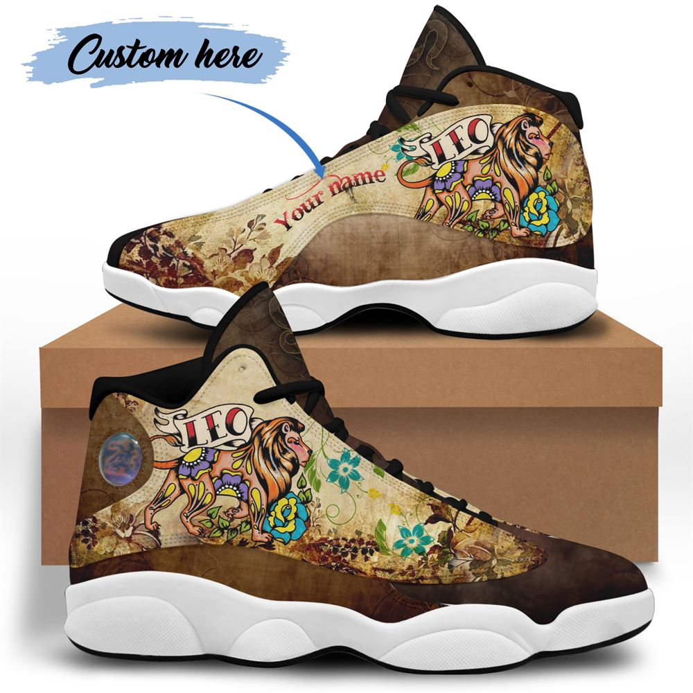 August Birthday Air Jordan 13 August Shoes Personalized Sneakers Sport V043