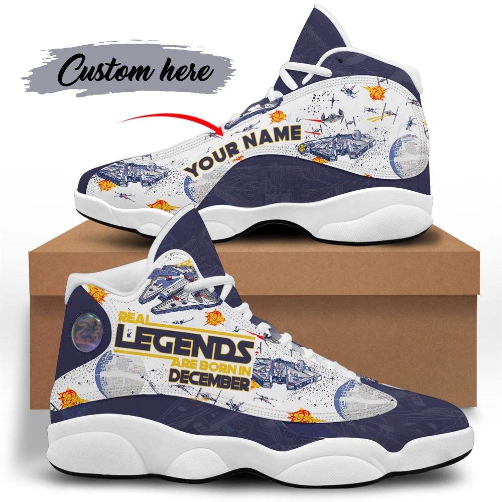 December Birthday Air Jordan 13 December Shoes Personalized Sneakers Sport V028
