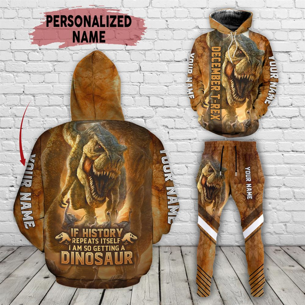 December Birthday Guy Combo December 3d Clothes Personalized Hoodie Joggers Set V06