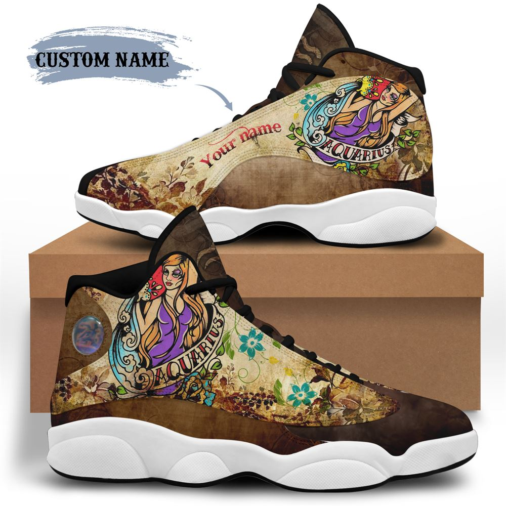 February Birthday Air Jordan 13 February Shoes Personalized Sneakers Sport V020