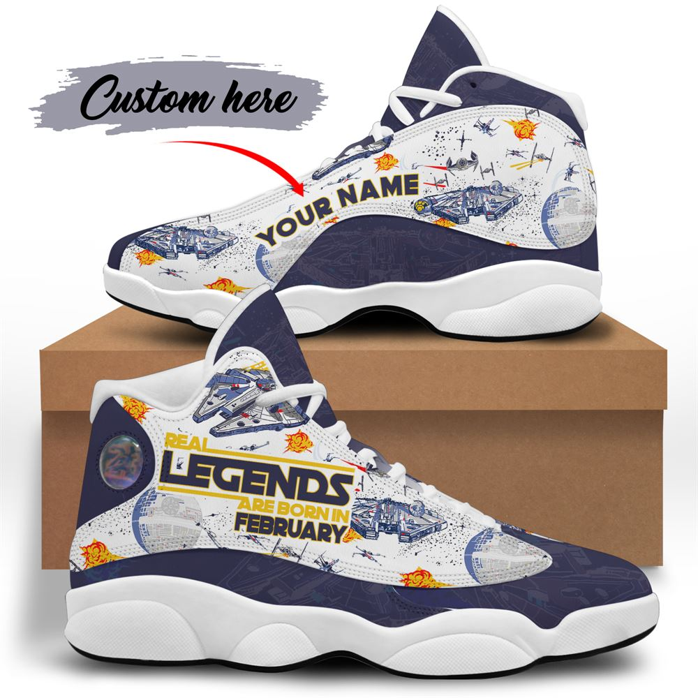 February Birthday Air Jordan 13 February Shoes Personalized Sneakers Sport V038