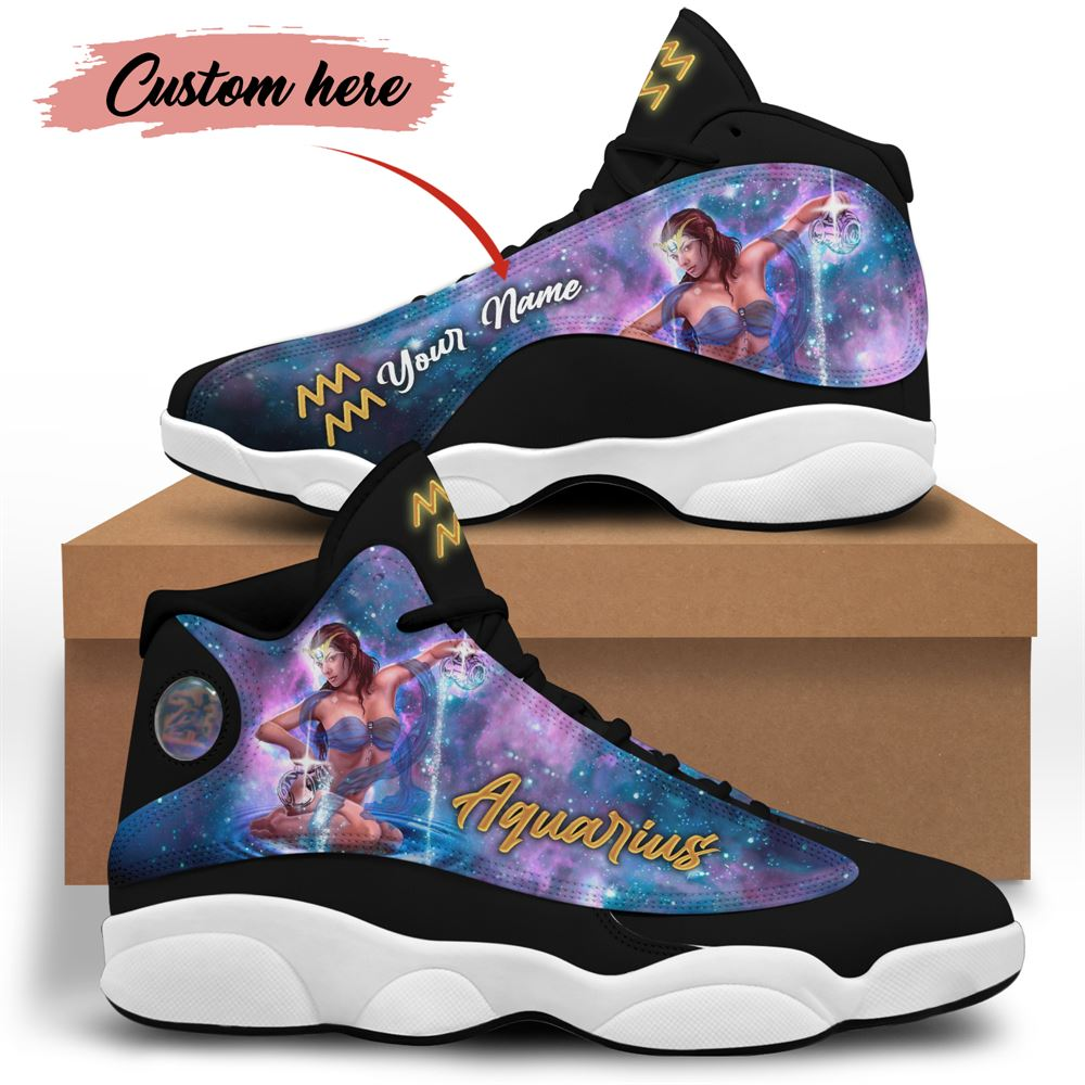 February Birthday Air Jordan 13 February Shoes Personalized Sneakers Sport V05